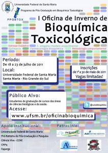 Oficina de Inverno de Bioquímica Toxicológica