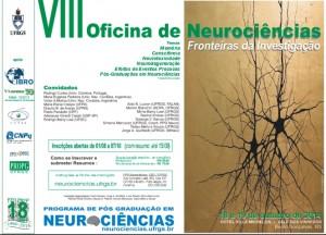 CArtaz da VIII Oficina de Neurociências 2014 - Bento Gonçalves, RS